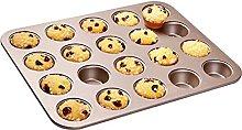 DSWHM - Stampo da forno per muffin, 20 cavità,