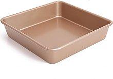 DSWHM - Stampo da forno quadrato, in acciaio al