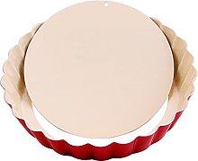DSWHM - Teglia per torta, 20 cm, antiaderente, in