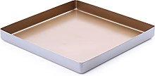 DSWHM - Teglia quadrata per teglia, antiaderente,