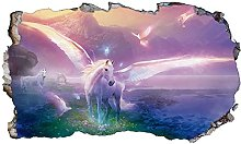 DT Poster Unicorn Wall Sticker 3D Smash Bambini