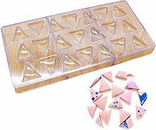 DUBENS DIY Triangolo Policarbonato Stampo 3D per