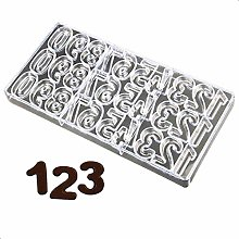 DUBENS Stampo 3D a forma di numeri in