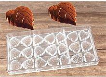 DUBENS, stampo a forma di foglia in policarbonato