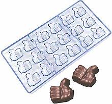 DUBENS Stampo in policarbonato 3D per pollice e