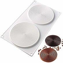 DUBENS - Stampo in silicone a forma di spirale per