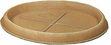 Duplast Dup066 Sottovaso per Vaso, Terracotta