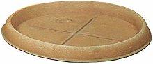 Duplast DUP068 Sottovaso per Vaso, Terracotta