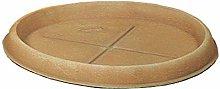 Duplast Dup070 Sottovaso per Vaso, Terracotta