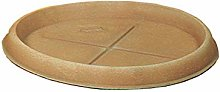 Duplast DUP072 Sottovaso per Vaso, Terracotta