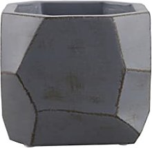 DYXYH Flowerpot Cemento Minimalista Irregolare
