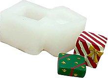 DZAY Stampo in Silicone per Babbo Natale,Stampi in