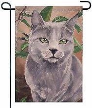 Eastlif Bandiera del Giardino Art on Cats, Ciao