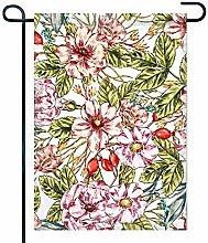 Eastlif Bandiera del Giardino di Rose Selvatiche,