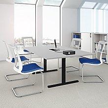 Easy - Tavolo da conferenza, 200 x 120 cm, colore: