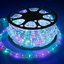 ECD Germany 30 m RGB Luci LED Tubo Luminoso
