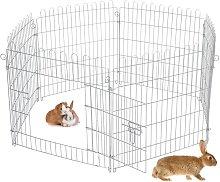 Ecd Germany - Recinzione per piccoli animali con 6