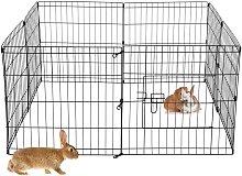 Ecd Germany - Recinzione per piccoli animali con 8