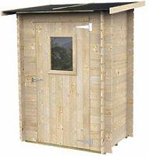 Ecla - Casette Box Da Giardino In Legno Porta