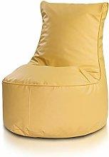 Ecopuf Seat S Poltrona Sacco Pouf in Ecopelle -