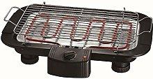 EDM 07644 Barbecue Elettrico, 2000 W, Nero