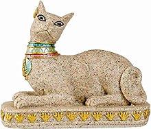 Egitto Gatto Dio Statua Materiale In Resina