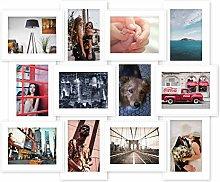 EGLEMTEK Lisbona Cornice Porta Foto 10 x 15 Cm