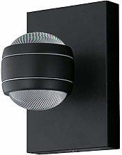 EGLO Lampada da parete a LED per esterni Sesimba,