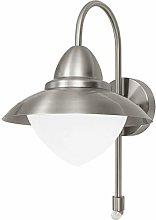 EGLO Lampada da parete per esterni SIDNEY, lampada