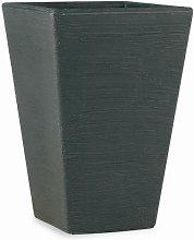 Elbi - Vaso quadrato in resina 'Giglio' 60