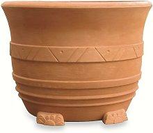 Elbi - Vaso resina grande Mediterraneo cm. 110