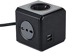 Electraline 62099 Multipresa Cubo Powercube 4