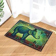 Elefante decorativo dell'acquerello del