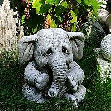 Elefante Statua Decorazione Da Giardino,Carino