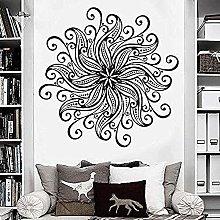 Elegante arte Wall Stickers Staccabile Mandala