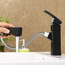 Elegante rubinetto per lavabo da bagno allungabile