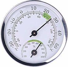 Eliky - Termometro da parete con igrometro per