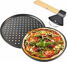 Elinala Teglia Pizza, Teglie per Pizza Rotonde,