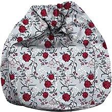 Eloria - Poltrona a sacco in tela con motivo