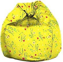 Eloria - Pouf per poltrona a sacco in tela con