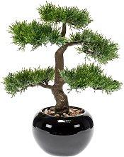 Emerald Bonsai Cedro Artificiale Verde 34 cm 420003