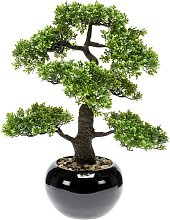Emerald Ficus Artificiale Mini Bonsai 47 cm 420006
