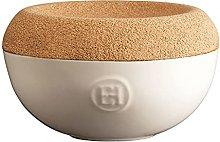 Emile Henry Barattolo per Sale, Ceramica Sughero,