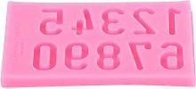 Emoshayoga - Stampo per torte a forma di numero,