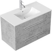 Emotion - Mobile bagno Firenze 90 bianco grigio