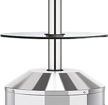 Enders - Tavolino in vetro, accessorio, adatto per