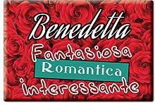 Enjoymagnets Benedetta CALAMITA Magnete Nome
