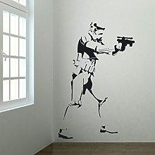 Enorme Grande Adesivo murale Gunman Stormtrooper