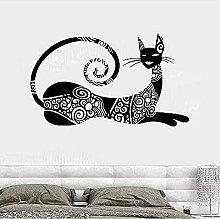 Eooxd Adesivo da Parete Adesivo per Gatti Moda Pet