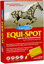 EQUI-SPOT FARNAM insetticida spot-on 1 Pipetta 10